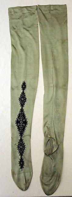Stockings  Date: 1900 Culture: French Medium: silk