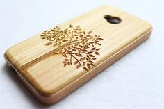 Wood HTC One Case Bamboo HTC One Case Tree HTC One by SamuraiCase ~beautiful!