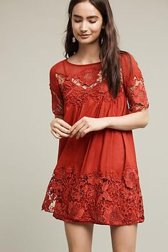 Magnolia Lace Dress - anthropologie.com
