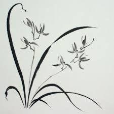 Resultado de imagen de orchid brush painting