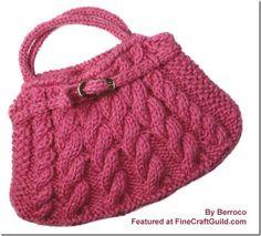 Gomitoli Magici: knitted bag con manici