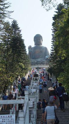 Hong Kong, Mount Rushmore, Buddha, Dolores Park, Mountains, Big, Nature, Travel, Naturaleza