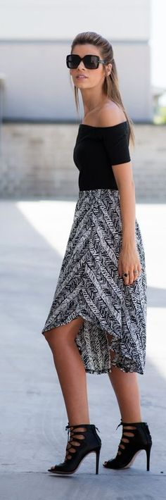 Bardot Top Chic Style by Ms Treinta