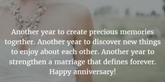 Wedding Quotes : Picture Description - 25 Best Wedding Anniversary Quotes for Husband - EnkiVillage Best Wedding Anniversary Quotes, Anniversary Message For Husband, Anniversary Quotes For Parents, Happy Anniversary My Love, Birthday Message For Husband, Wedding Card Quotes, Quote For Husband, Anniversary Meme, New Year Quotes For Couples