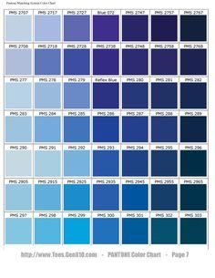 PANTONE Color Chart - PMS - Screen Printing