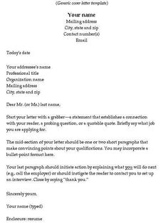 25 Best Cover Letters Images Introduction Letter Cover Letters