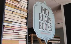 Indy Reads Books - a new book store in downtown Indianapolis that will help fund adult literacy programs