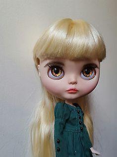 OOAK Custom Takara Blythe Art Doll - Alice- by Victoria Fox