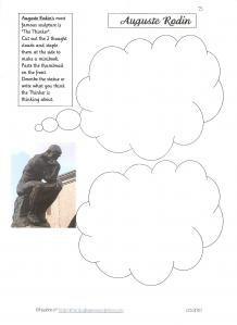 .kuvan tulkintaa Mitä Ajattelija ajattelee