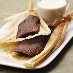 Tamales Dulces de Chocolate Abuelita