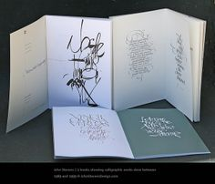 John Stevens Books by JSD-calligraphy,