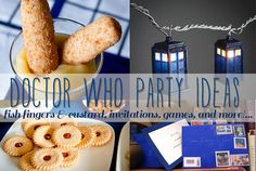 I really want to have a doctor who summer party just to cool my nerves of going to a new school. I mean really I home schooled till 6th grade and then went to private school but this year I'm going to public so I mean REALLY!? I SOOO NEED THIS PARTY!!!