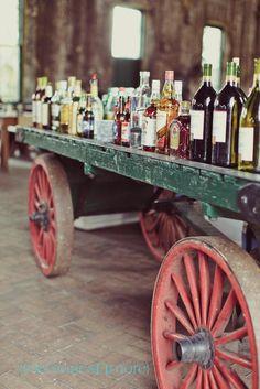Better than a bar, far far better!   Inspiration    Wedding   Ceremony   Ideas   Katharine Kidd