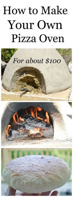 Learn how to make a pizza oven for about 100 and fire bake chicken fish bread p Oven Diy, Diy Grill, Patio Grill, Bread Oven, Bread Pizza, Clay Pizza Oven, Fish Breading, Pizza Oven Outdoor, Brick Oven Outdoor