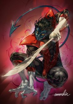 Nightcrawler by emmshin on DeviantArt