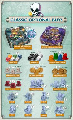 Arcadia Quest: Inferno by CoolMiniOrNot — Kickstarter