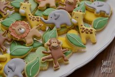 Jungle Animals | Cookie Connection