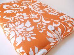 IPad Mini Case Orange iPad Mini Sleeve Women's iPad by MadeByJulie