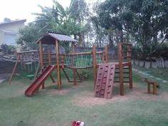 parquinho playground aldeota completa em eucalipto tratado                                                                                                                                                                                 Mais
