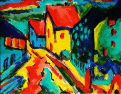 Devon after Kandinsky by Sion Bramble