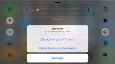 Apple vient de lâcher la troisième bêta pour iOS 9.3 à destination des développeurs, en même temps que watchOS 2.2, tvOS 9.2 et OS X 10.11.4. Beaucoup de nouveautés ont été découvertes au fur et à mesure des préversions, une des plus significatives étant l'apparition d'un mode « Night Shift » qui module la couleur de l'écran selon l'heure de la nuit (lire : iOS 9.3 : aperçu des nouveautés majeures).