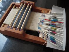 Toy Piano Counterbalance Loom 3 – How well does it play? Weaving Tools, Loom Weaving, Basket Weaving, Crochet Hooks, Piano, Rugs, Weave, Crafts, Textiles
