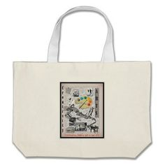 The Arts & Creativity Tote Bags Design by Bobbee Rickard of www.zazzle.com/BobbeeJs online store with printed items: shirts, hats, mugs, bags and more.
