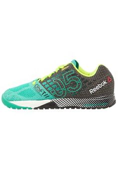 Reebok CROSSFIT NANO 5.0 - Sports shoes - green/black/yellow for £90.00 (02/07/16) with free delivery at Zalando