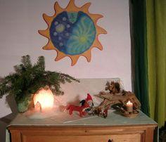Jahreszeitentisch im Februar  http://astridpomaska.blogspot.de/