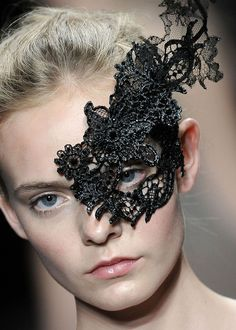 re-create with starched, glue soaked lace trims etc?