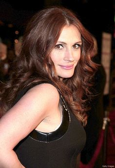 Julia Roberts- by Top Class, via Flickr                   Hair color for fall!