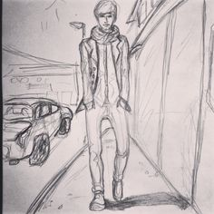 Oh My Dear Tomboy #art #sketch #draw #drawing #painting #paint #artist #illustration #artwork #colour #gallery #love #color #boring #pinterest #pinterestinspired #pinterestproject #pinterestlife #pinterestidea #madebyme #tomboy #AndresIndiAvolato #indi #INDI