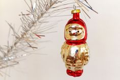 Vintage Christmas ornament Soviet Cosmonaut Christmas Collectibles Glass Ornament Astronaut USSR 1960's by Retronom on Etsy