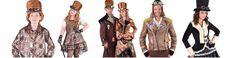 Déguisements Steampunk adulte et enfant : déguisement Steampunk femme, homme fille et garçon, accessoires Steampunk, chapeau Steampunk, lunettes Steampunk et bijoux steampunk pour créer un look rétrofuturiste et stylé.