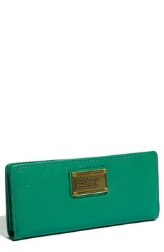 MARC BY MARC JACOBS 'Classic Q Long' Foldover Wallet | Nordstrom - StyleSays