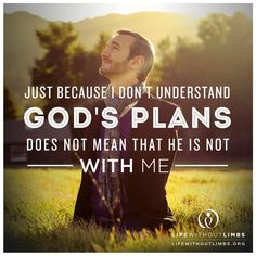 Inspiring quotes by Nick Vujicic .Nick vujicic is international motivational speaker ,author of Life without Limbs .Inspirational quotes & messages by Nick Nick Vujicic, Faith Quotes, Bible Quotes, Me Quotes, Plans Quotes, Godly Quotes, Jesus Quotes, Gods Plan, Faith In God