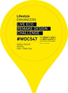Voted Design Capital of the World! Sustainable Design, Cape Town, Typo, City, Poster, Inspiration, Biblical Inspiration, Cities, Billboard