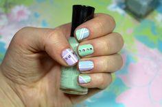 Nail Art pastel www.maquillagecynthia.com
