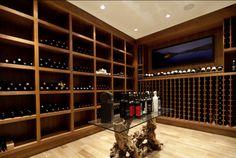La stanza dei vini