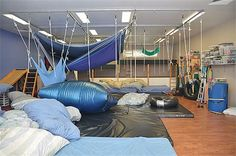 The Sensory Gym - cont multiple hang points +++