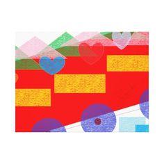 Decorative panel canvas print