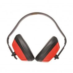 Portwest Classic Ear Protector Red - Light weight and robust, the has a mul. Ear Protection, Hearing Protection, Best Workwear, Safety Workwear, Hearing Aids, Earmuffs, Ear Warmers, Workplace, Headset