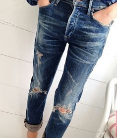 Always ripped jeans
