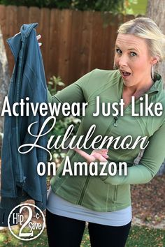Do you love the Lululemon look but not the high prices? Check out our round up of popular items on A Workout Attire, Workout Wear, Workout Outfits, Workout Tanks, Dupes, Best Amazon Products, Amazon Clothes, Dressing, Hailey Baldwin