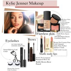 Kylie Jenner Makeup. Love this look and all the products in this look.