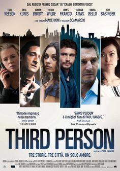 Third Person, scheda del film di Paul Haggis con Liam Neeson, Olivia Wilde e James Franco, leggi la trama e la recensione, guarda il trailer, trova la programmazione del film