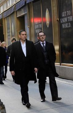 person of interest - john and finch