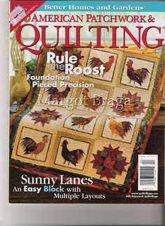 American Patchwork Quilting n. 49 April 2001 - Sandra Vinivikas Artesanatos - Picasa Web Albums...