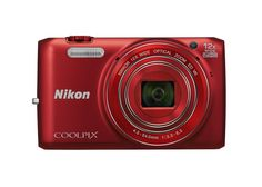 Nikon COOLPIX S6800 16 MP Wi-Fi CMOS Digital Camera with 12x Zoom NIKKOR Lens and 1080p HD Video (Red) (Discontinued by Manufacturer). 16 MP Low-light CMOS Sensor. 12x Optical Zoom and 24x Dynamic Fine Zoom allow you to get even closer to what matters. Built-in Wi-Fi for instant photo sharing. 1080p HD video. Target-finding AF for accurate, intelligent autofocus. 18 Scene Modes and Scene Auto Selector for effortless photos and video.
