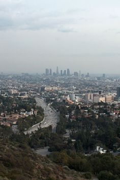 View from Mulholland Drive